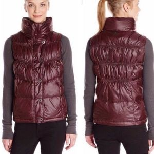Prana Milly Down Feather Puffer Vest Mohagany